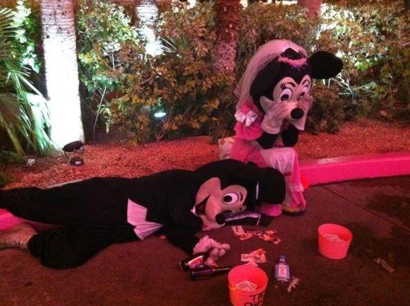 Broken Disney Family
