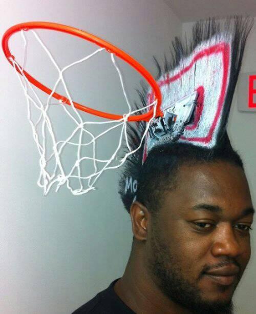Hoops hair