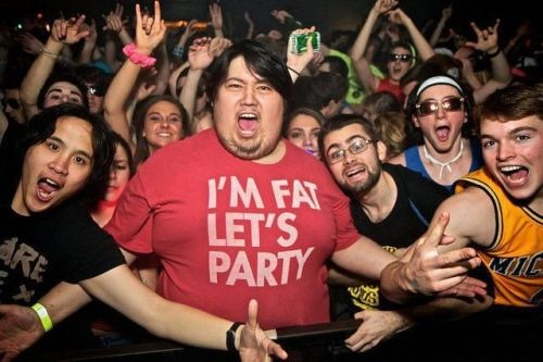 I'm Fat, Let's party